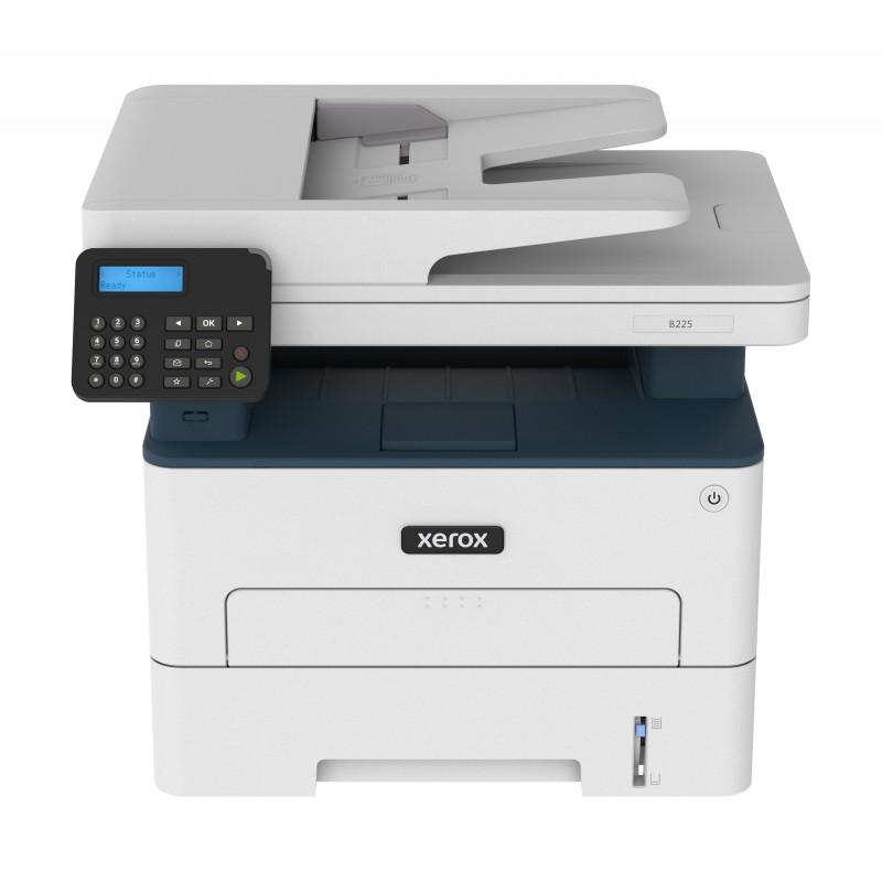 Xerox - B225V_DNI - Multifonction (impression, copie, scan) laser, noir et blanc, recto verso uniquement en impression, réseau,