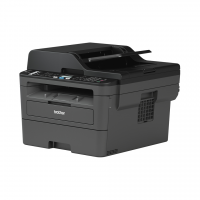 Brother - MFC- L2710DN - Multifonctions (Impression - copie - scan - fax) laser - noir et blanc - A4 - chargeur de document ADF - recto verso en impression uniquement - réseau - 30 ppm